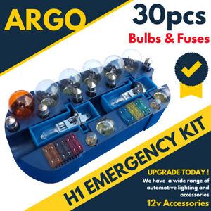 H1 Voiture Van 501 Urgence Ampoule Rechange & Fusible Remplacement Voyage Kit 30