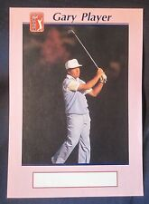 GARY PLAYER PHOTO - WATERMAN PARIS PENS - RARE
