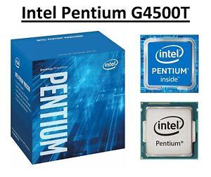 Intel Pentium G4500T SR2HS Dual Core Processor 3.0 GHz, Socket LGA1151, 35W CPU