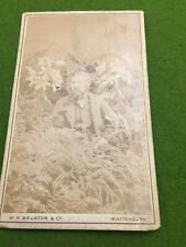 New listing Cdv Civil War Era Carte de visite photo England W H Brunton