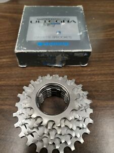 New-Old-Stock Shimano 600-Ultegra UniGlide (UG) Cassette...7-speed/12x19