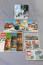 Lego System Beipackzettel / Katalog / Flyer 1972 Eisenbahn, 4,5 Volt Motor