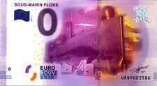 56 LORIENT Sous-marin Flore, 2016, Billet 0 € Souvenir