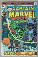 Captain Marvel #41 Nov 1975 MVS Intact 1st Ronan Accuser Milgrom Cover (VF/NM-)