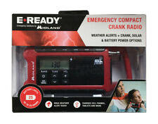 Midland E+Ready ER210 Emergency Compact Crank Radio NOAA Weather Alert Radio
