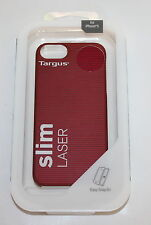 TARGUS SLIM SOFT-TOUCH LASER CASE FOR iPHONE 5 - TFD03103EU- RED- NEW