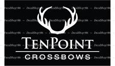 TenPoint Crossbows - Outdoor Sports/Hunting- Vinyl Die-Cut Peel N' Stick Decals