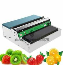 220V Stainless Steel Food Film Wrapping Wrapper Supermarket Packing Use