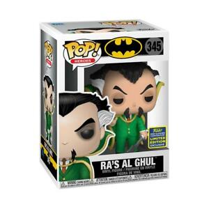 Funko Pop! Vinyl Ra's al Ghul Summer Convention 2020 Exclusive Batman #345