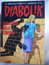 DIABOLIK anno XVI n°5  [G313]