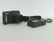 Nikon Coolpix S9700 16 MP Wi-Fi Digital Camera with 2 Batteries and Strap