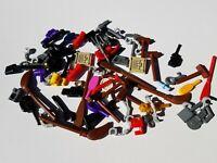 67 x Genuine Lego tools spanner axe broom camera shovel syringe utensil 21678