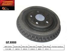 Best Brakes GP8980 Rear Brake Drum