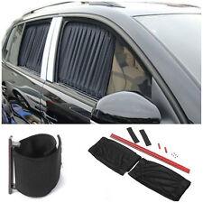 2x70cm Adjustable Car SUV Window Anti-UV Sun Shade Drape Visor Curtain Valance