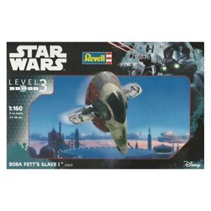 Revell 03610 Star Wars Boba Fetts Slave I Plastic Model Kit NEW BOX