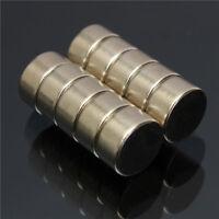 10pcs 10mm x 5mm N52 Strong Rare Earth NdFeB Neodymium Disc Magnets