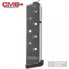 Chip McCormick 1911 POWER MAG+ .45 ACP 8 Round SS MAGAZINE 12131 FAST SHIP