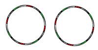 Adesivi ruote moto strisce cerchi YAMAHA TMAX 500 tmax 530 adesivi tricolore
