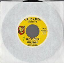 KING CHARLES & THE COUNTS ~ SALT N' PEPPER ~ 1965 CRUSADER ~ PROMO ~ GARAGE~NM