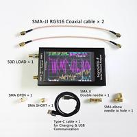 Nanovna 50KHz-1500MHz Vector Network Analyzer UHF HF VNA UV VHF Antenna Analyzer