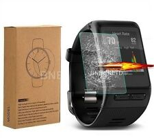 2 X 100% Tempered Glass Screen Protector for Garmin Vivoactive HR Fitness Watch
