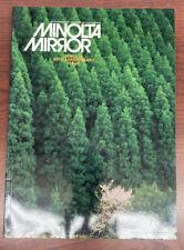 Minolta Mirror International Magazine Of Photography 1978 50th Anniversary Issue