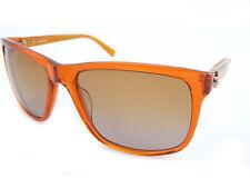 CALVIN KLEIN Womens Designer Sunglasses Orange / Brown Gradient CK4195S 286
