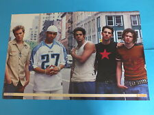 Double Sided Poster - West Life, O-Town and Ritchie Five £4.99 New Free P & P
