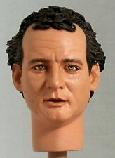 1:6 Custom Head of Bill Murray as Peter Venkman from the Ghostbusters films v2