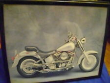 Harley Davidson Motorcycles Wall Metal Framed Picture