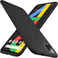 iBetter for Googlepixel4a Case, Premium Flexible Rubber Cover Shock Proof with