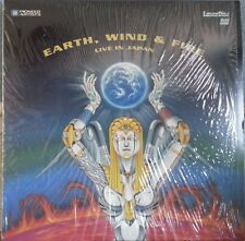 EARTH, WIND & FIRE LIVE IN JAPAN Laser Disc (PA-92-450) LN