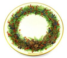 New listing Lenox Colonial Christmas Wreath Annual Limited Edition #6 New Hampshire 1986 Usa