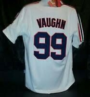 Wild Thing Cleveland Indians Cool Base 50 Large men's jersey 99 Vaughn