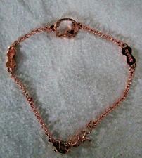 Sanrio Hello Kitty Jewelry Chain Bracelet Diecut Face Bows with Rhinestone