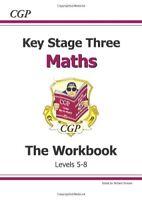 KS3 Maths Workbook - Higher: (Levels 5-8),Richard Parsons,CGP Books