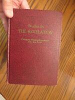 Studies in the Revelation 1957 by Charles Roberson church pf Christ commentary