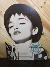 """Madonna RARE Immaculate Collection Promo 27"""" x 21"""" Store Display 1990"""