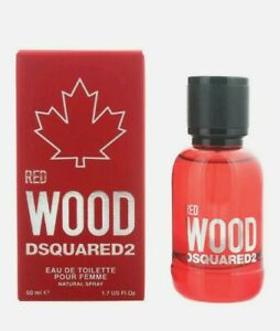 Dsquared2 Red Wood Eau de Toilette 50ml Spray For Her - NEW. Women's EDT