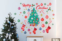Walplus Merry Christmas and Christmas Tree Themes Decals Art Home Decorations