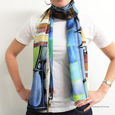 "OFFICIAL REX RAY COLLECTION STORE - Rex Ray -  Silk Scarves ""MARLIN"""
