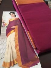 Indian Ethnic Saree Kerala Cotton, brand new for all occasion