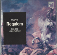 CD MOZART REQUIEM PHILIPPE HERREWEGHE    3070
