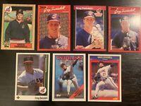 Greg Swindell Baseball Cards. Cleveland Indians