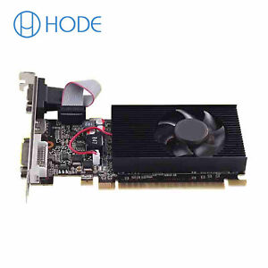 GT730 2GB Graphics Card 64Bit GDDR3 GT 730 2G D3 Game Video Cards UK