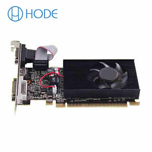 GT730 2GB Graphics Card 64Bit GDDR3 GT 730 2G D3 Game Video Cards UK