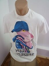 Pink Panther T-shirt, Small Men T-shirt S Size White