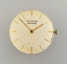 VINTAGE WITTNAUER MENS AUTOMATIC WRIST WATCH MOVEMENT – RUNS – CALIBER 6-7AG