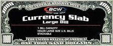 BCW Deluxe Currency Slab Dollar Bill Case Large Banknote Large Slab