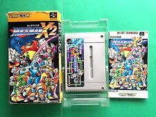 ROCKMAN X2 MEGAMAN Nintendo Super Famicom Game Japan SNES SFC FREE Shipping